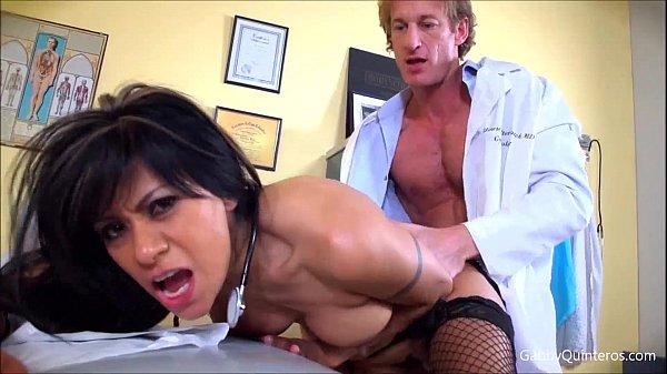 MexiMILF Gabby Quinteros Sucks & Fucks Her Doctor! Thumb