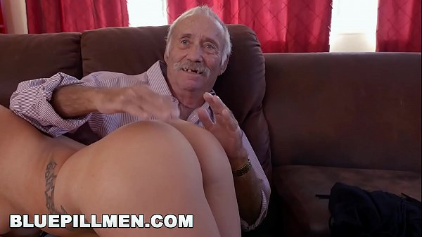 BLUE PILL MEN - Young Presley Carter Takes Old Man Cock For Concert Tickets Thumb