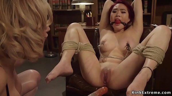 MILF professor anal fucks Asian student