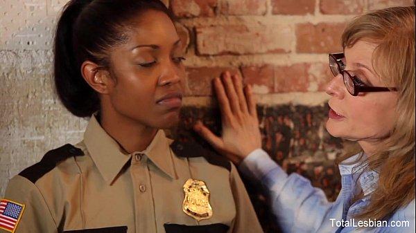 Ebony Lesbian Gets DPd Thumb