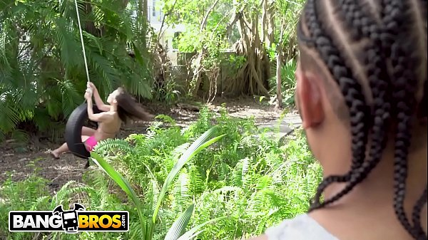 BANGBROS - Asian Babe Kalina Ryu Takes On Macana Man's Big Black Dick On Monster Of Cock