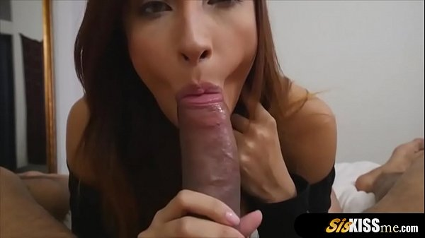 Stepsister is an anal loving stewardess and using bro Thumb