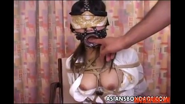 Asian Bitch with a Mouth Piece gets Used a Bit: Porn 50 - abuserporn.com
