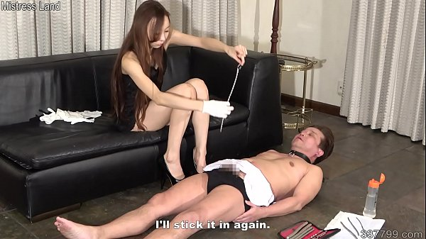 Japanese Femdom Risa CBT with Bougie Thumb
