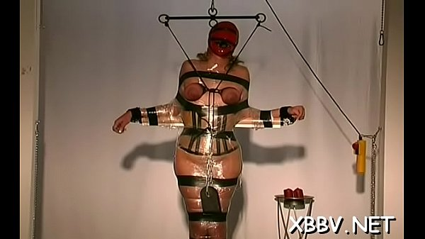 Tied up woman coercive to endure severe bdsm xxx moments Thumb