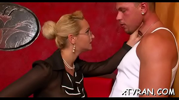 Slave licks mistress' feet and gets whipped hard in sexy bdsm Thumb