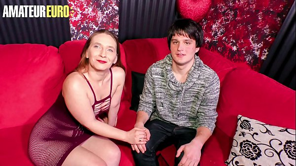 AMATEUR EURO - #Lilly Ladina - Shy Guy Tries His Luck With A Skilled Hot German MILF