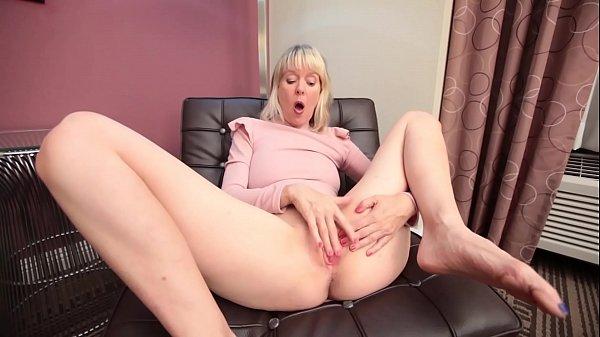 Mature caught masturbating