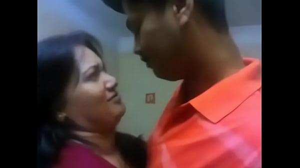 Indian aunty hot kiss Thumb
