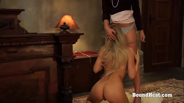 Disappeared On Arrival 2: Lesbian Slave Humps Mistresses Leg And Gives Awesome Pussy Licking