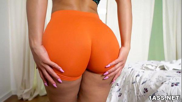 Big ass Rose Monroe Tries Anal With Big Dick Thumb