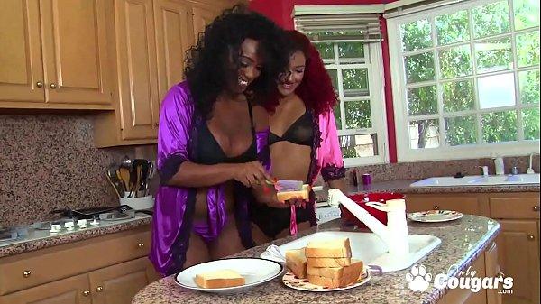 Daisy Ducati & Layton Benton Get Naughty In The Kitchen