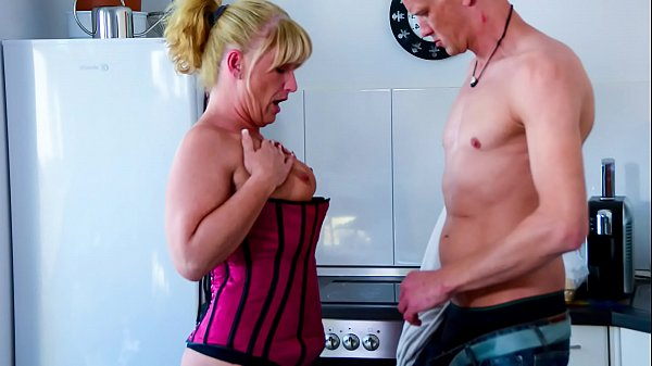 XXX OMAS - Mature German blonde banged by y. guy