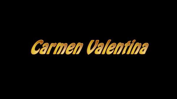 BBC Slut Carmen Valentina Milks That Cock