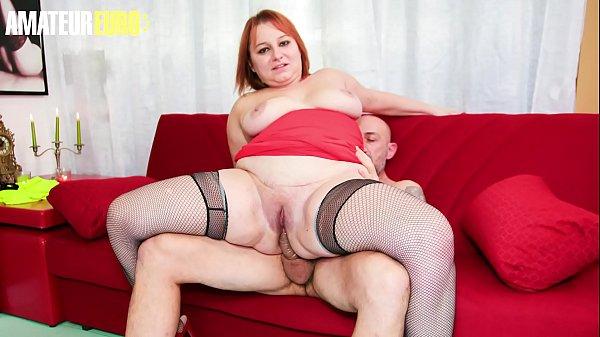 AMATEUR EURO - Sexy BBW Lady Kiara Rizzi Takes ...