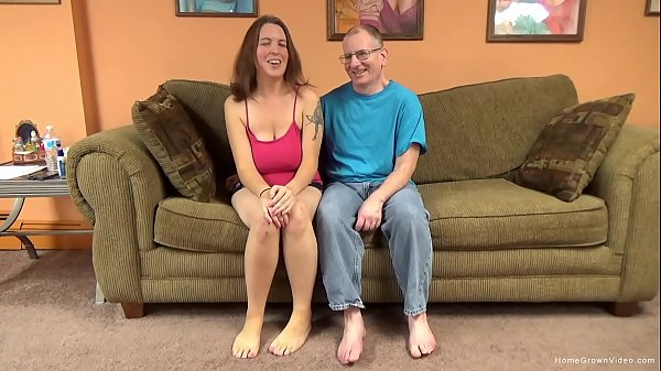 Big titty amateur cutie lets an old man pound h...