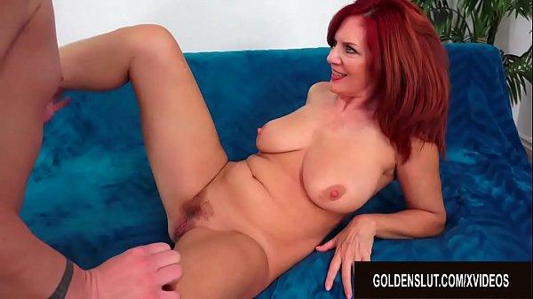 Mesmerizing Older Redhead Andi James Escorts Her Man into Mature Sex Heaven Thumb