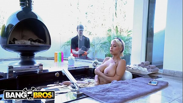 BANGBROS - Chris Strokes Spies On Busty Babe Bridgette B And Gets Lucky Thumb