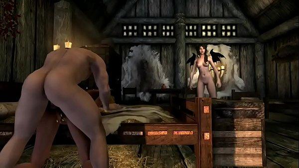 Skyrim Porn Movie XBOX ONE Mods 2  Succubus Bitches Gets Their Midnight Snack
