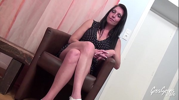 Crystal, gorgeous brunette addicted to anal