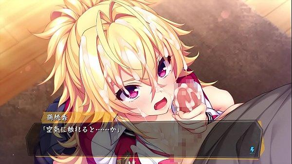 Japanese hentai game BABUMI H-scene 01