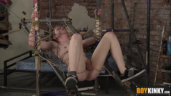2018-12-25 06:59:39 - Tied up slave Leo gets his ass drilled by horny Deacon 8 min  HD http://www.neofic.com