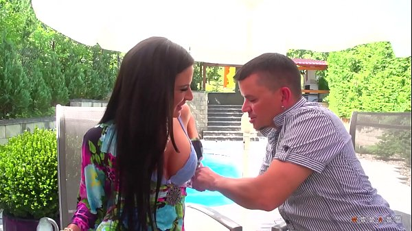 Silicone Babe isn't Shy to Get Slammed by the Pool Thumb