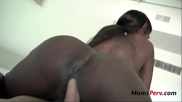 Ebony Mother's Interracial Hospitality- Mystique Thumb