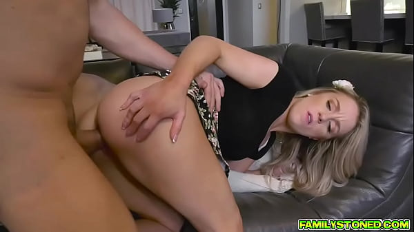 Kate Kennedy getting a hard pussy pounding from behind