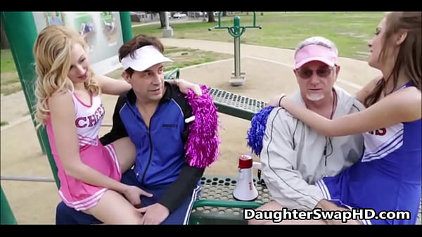 Teen Cheerleaders Dad's Agree To Swap Daughters...