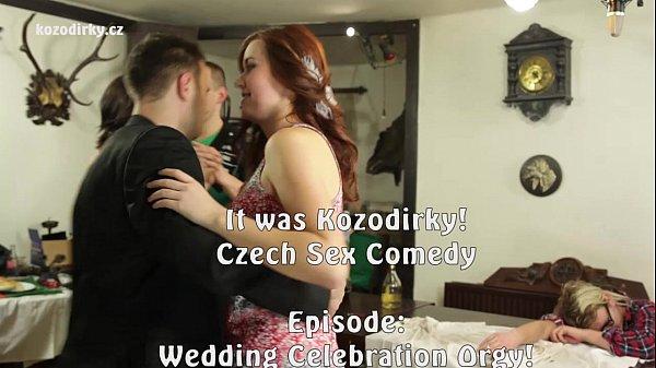 Hardcore Wedding Orgy Party with big cock Thumb