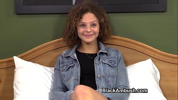 Cute Teen Ambushed by Black Cock Thumb