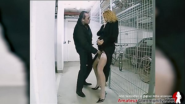 Blonde MILF fucked in ass after public blowjob Thumb