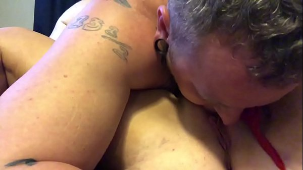 Eating my sexy wife's pussy