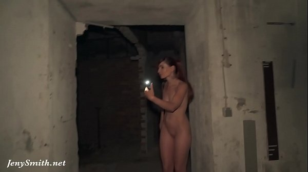 The Lair. Jeny Smith Going naked in an abandoned factory! Erotic with elements of horror (like Area 51)