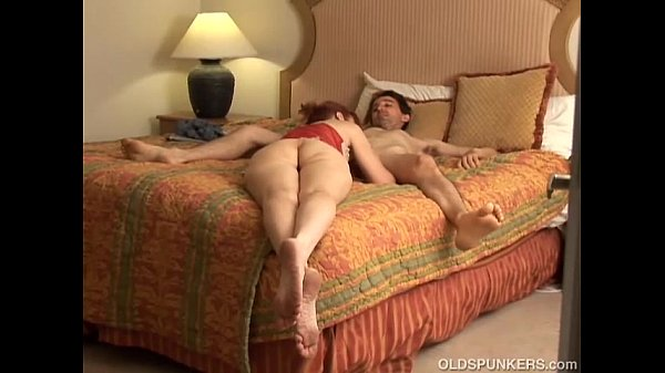 Skinny mature redhead loves to fuck and the taste of cum  thumbnail