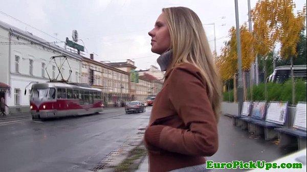 Euro girlnextdoor creampied in public thumbnail