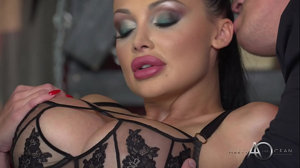 Aletta Ocean - Black Leather Double Pleasure - alettAOceanLive Thumb