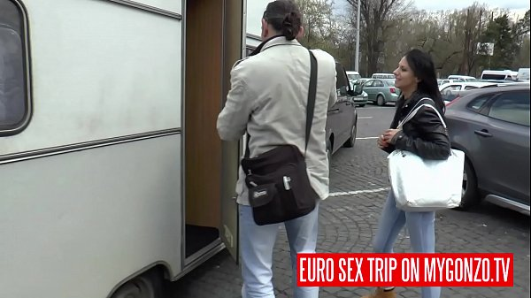 Euro Sex Trip: Hannah Sweet In The Sex Van with Reinhard and Dieter Von Stein Thumb