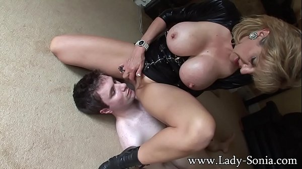 Lady Sonia 34G Breast Smothered