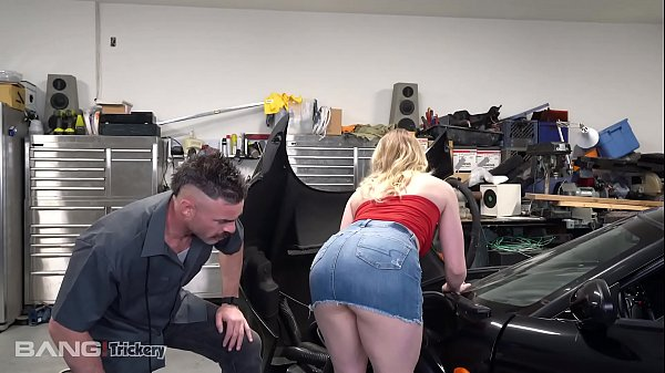 Trickery - Dirty Mechanic Tricks Kenzie Madison Into Sex