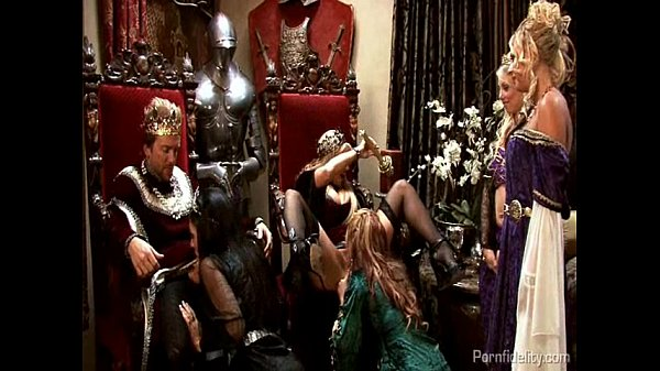 King and Queen Have A Medieval Orgy With Four Hot Whores Thumb