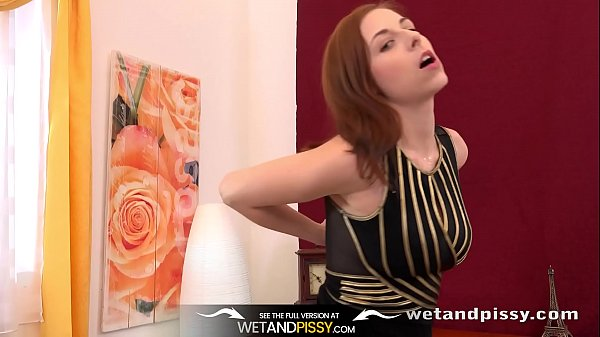 Piss In Mouth - Big boobed redhead can't get en...