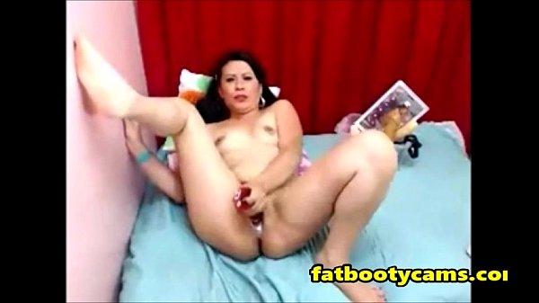 My Latina Milf Aunt on Cam - fatbootycams.com