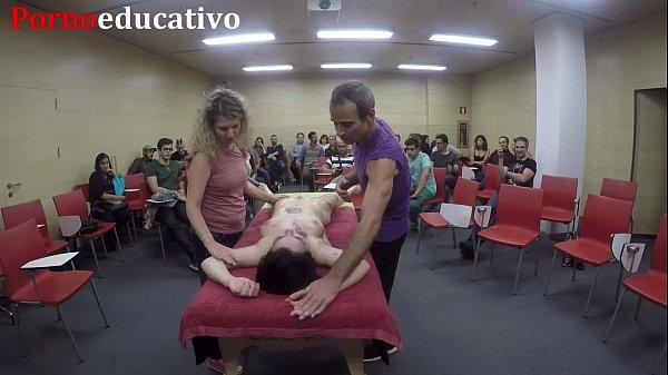 Clase 3 de masaje erótico anal