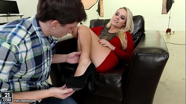 Alexis Monroe riding a big cock