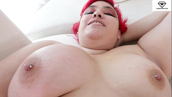 Luna Berry Pierced Nipples Big Boobs BBW POV