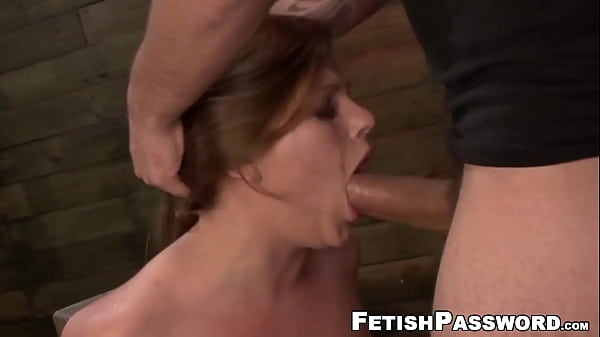 Young sub Kayleigh Nichole bound for big cock domination Thumb