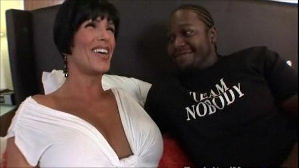 Busty Big Tit Milf fucked by black thug Interracial Video
