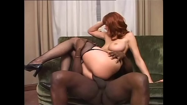 The slutty lady of the house loves to fuck with her black servant Thumb